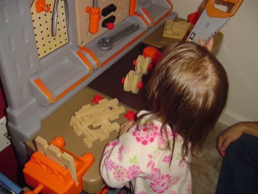 Step2 Home Depot Kids Workbench