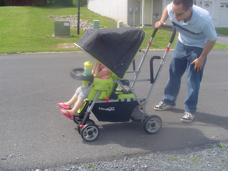 Joovy Caboose Too Rear Seat - Thrifty Nifty Mommy