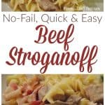 No-fail Beef Stroganoff Recipe