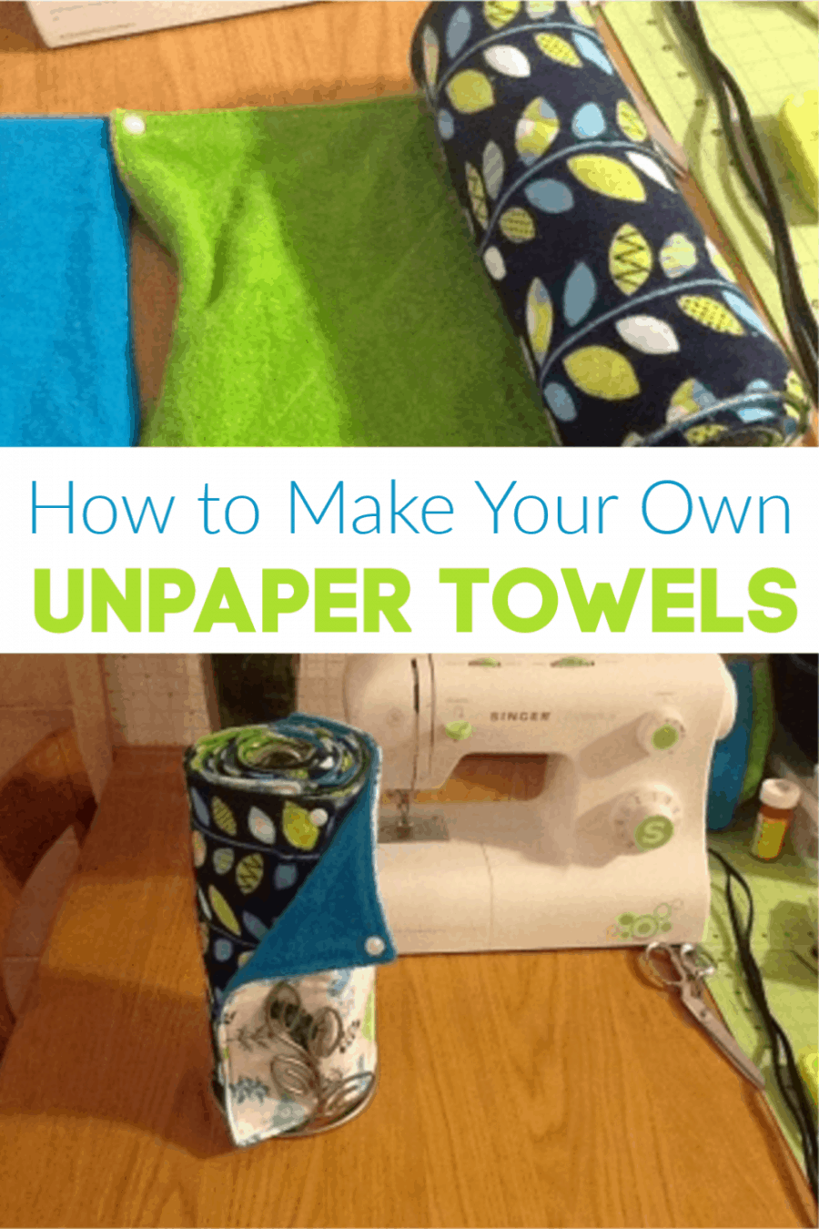 How to make your own unpaper towels