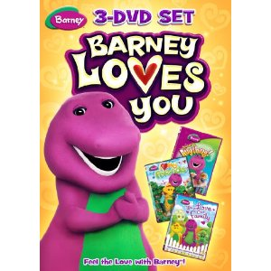 Barney Loves You 3-DVD Set Review