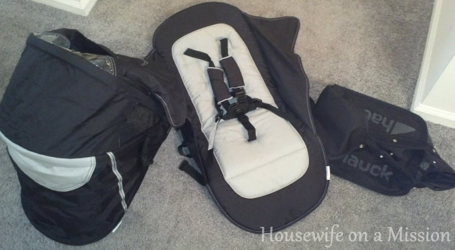 COMFORT CAR SEAT AND HARD CARRYCOT BLACK FRAME NEW HAUCK X STAND FOR 0