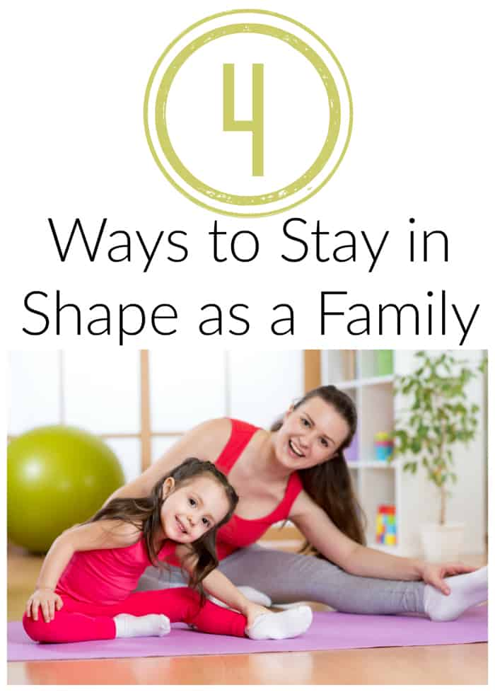 Staying in Shape as a Family