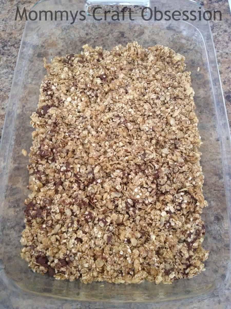 No Bake Chocolate Chip Granola Recipe
