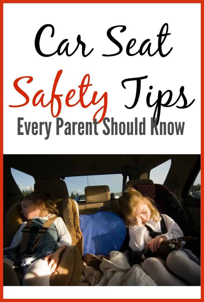 Great tips! Car seat safety is so important!
