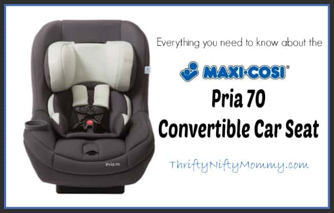 maxi-cosi pria 70 convertible car seat review
