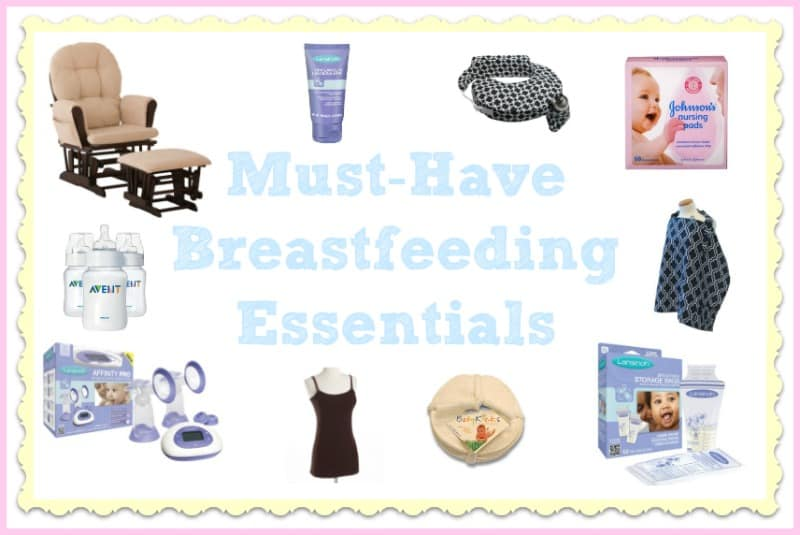 Must-Have Breastfeeding Essentials List