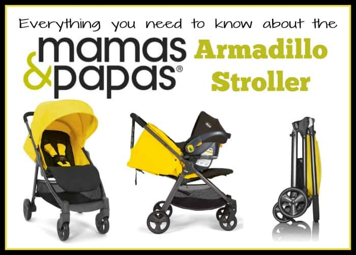 Mamas & Papas Armadillo Stroller Review