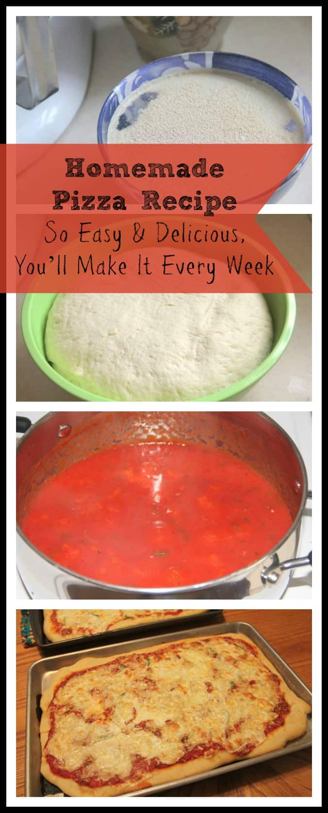 Homemade Pizza Recipe Image