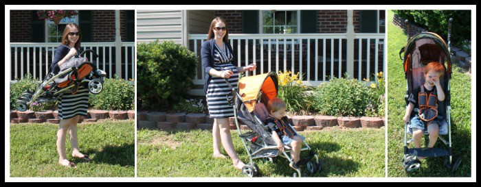 Strolling through Hagerstown, Maryland with the Summer Infant 3D Lite Convenience Stroller