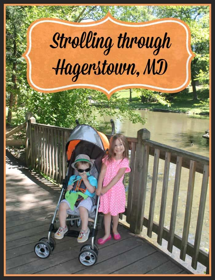Strolling Through Hagerstown Maryland With The Summer Infant 3d