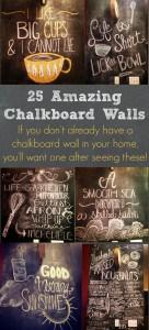 25 Amazing Chalkboard Walls