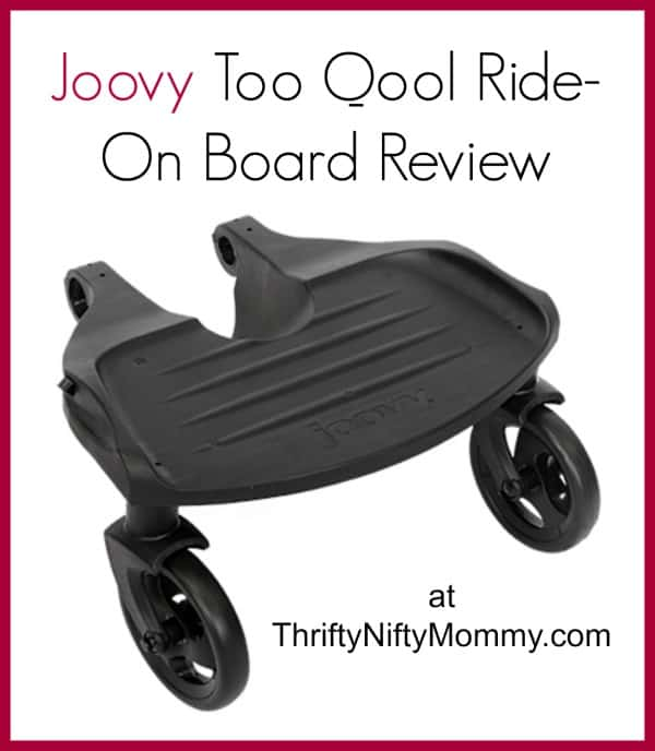 Joovy Too Qool Ride-On Board Review