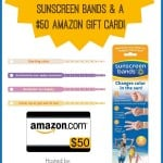 Sunscreen Bands Giveaway Image
