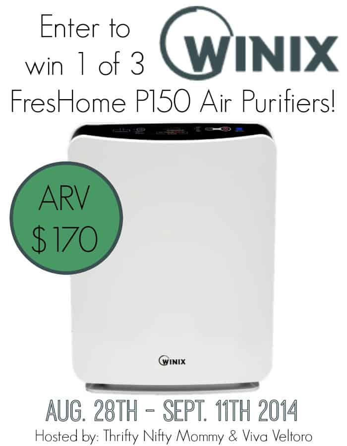 Winix FresHome P300 Air Purifier {Review & Giveaway}