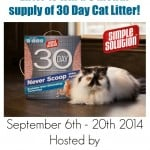 Win Simple Solutions Cat Litter