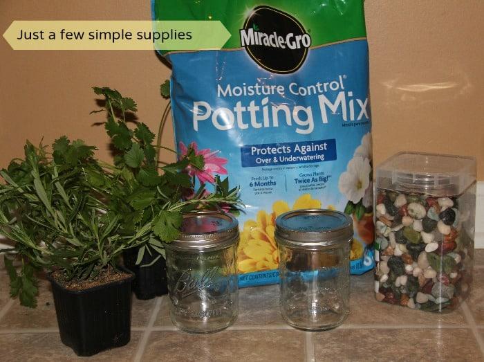 DIY Windowsil Herb Garden