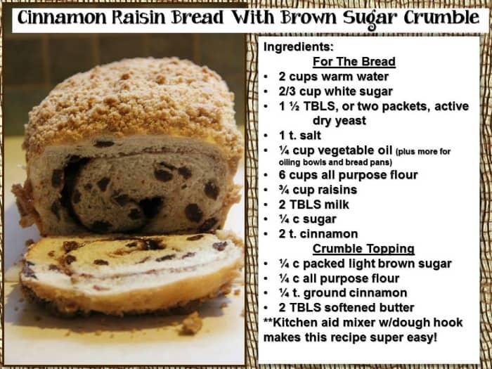 Raisin Bread 1