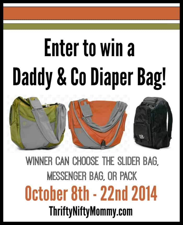The Daddy Diaper Pack from Daddy & Co