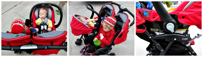 Combi Shuttle Infant Car Seat Review { and Giveaway!} - Thrifty ...