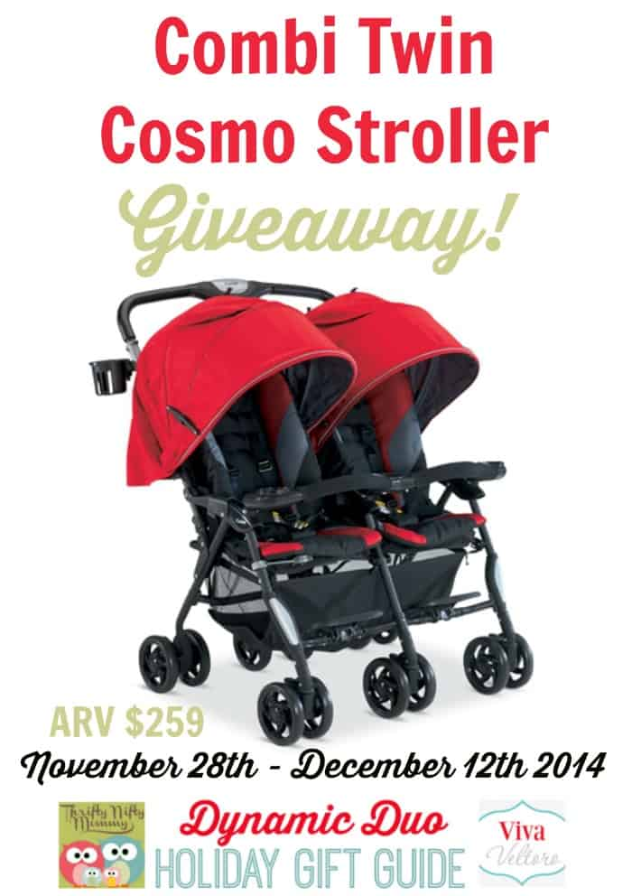 Combi Twin Cosmo Stroller Review & Giveaway