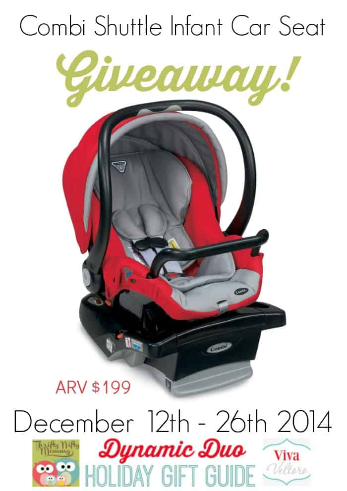 Combi Shuttle Infant Car Seat Review { and Giveaway!}