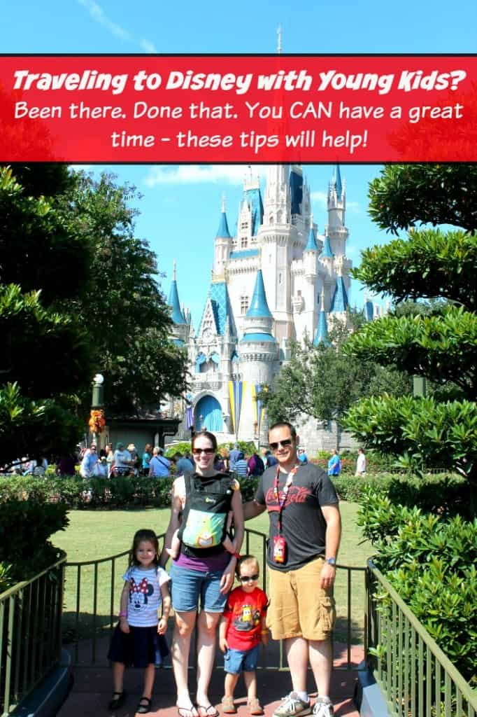 Traveling to Disney with young kids? There tips are the best!