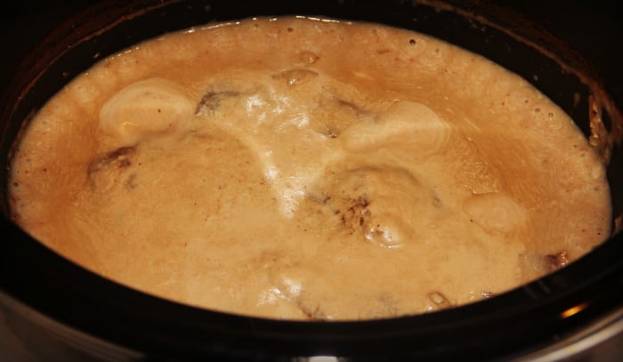 Slow cooker Strogonoff 2