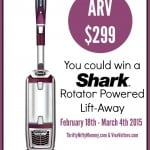Win a Shark Rotator Powered Life Away