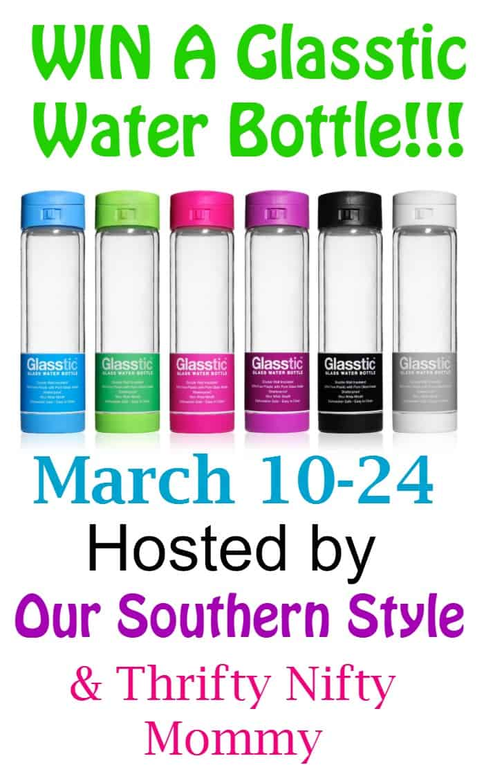 34e0af1a87 Drink More Water With Glasstic Shatterproof Water Bottles