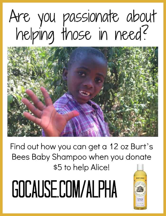 Get a 12 oz Burt's Bees Baby Shampoo by Donating $5 to a Great Cause {Sounds Like a Win-Win to Me!}