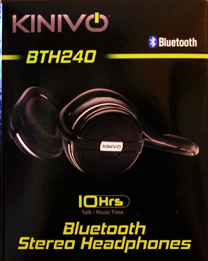 Get Unplugged With Kinivo Bluetooth Stereo Headphones