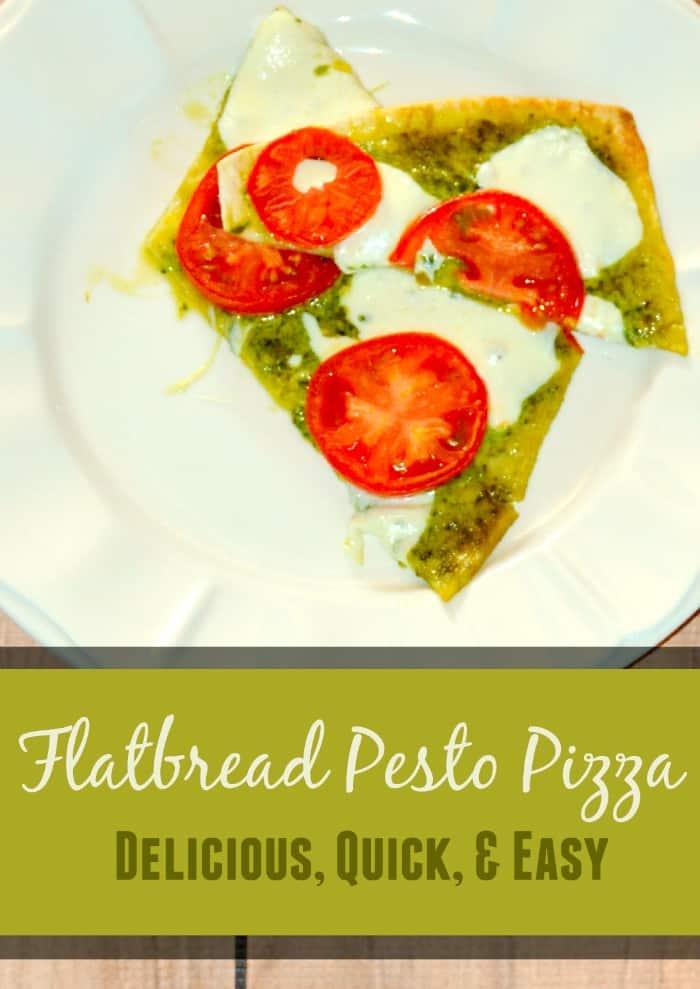 Flatbread Pesto Pizza