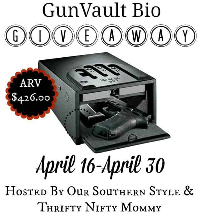 Keep Your Guns & Family Safe With A Gun Vault From DCG Stores {ARV $426 GIVEAWAY}