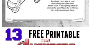 Print FREE Age of Ultron coloring sheets!
