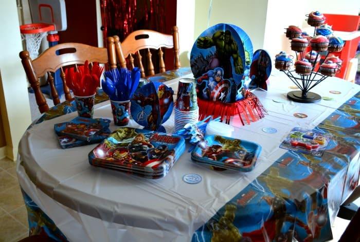 Avengers Table