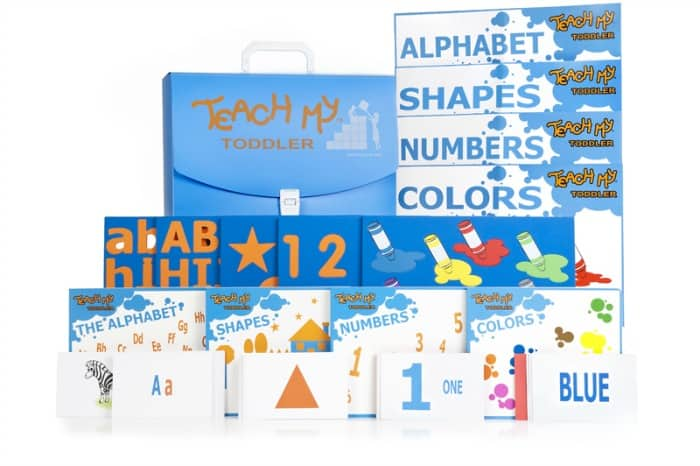 Teach My Toddler All-In-One Kit SKU 0004