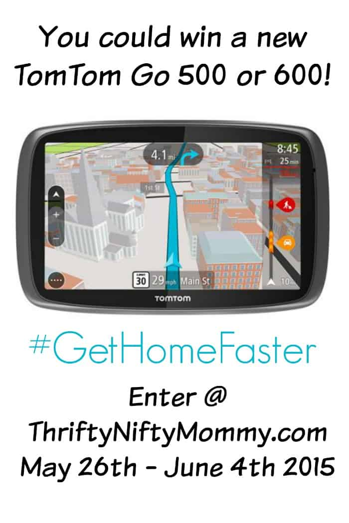 Get Home Faster with the TomTom Go 600 GPS