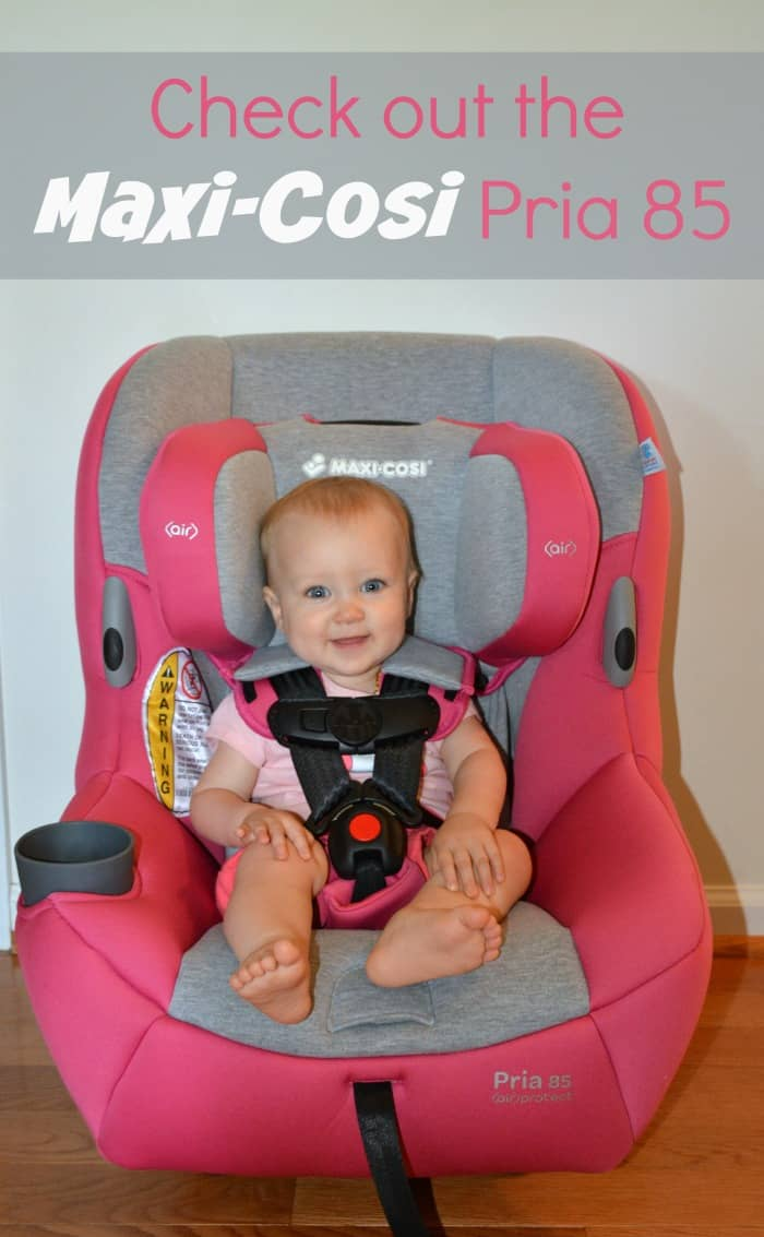 maxi cosi pria 85 convertible car seat review thrifty nifty mommy. Black Bedroom Furniture Sets. Home Design Ideas