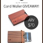 Slim Timber Giveaway
