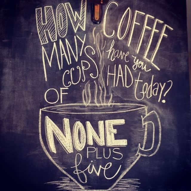 ahhhhh coffee!