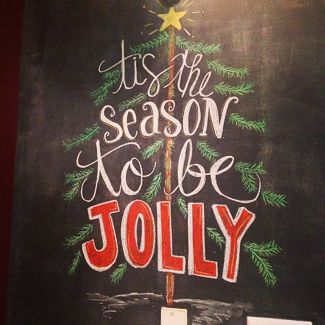 Be jolly