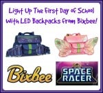 Light Up The First Day Of School With A Bixbee LED Backpack!