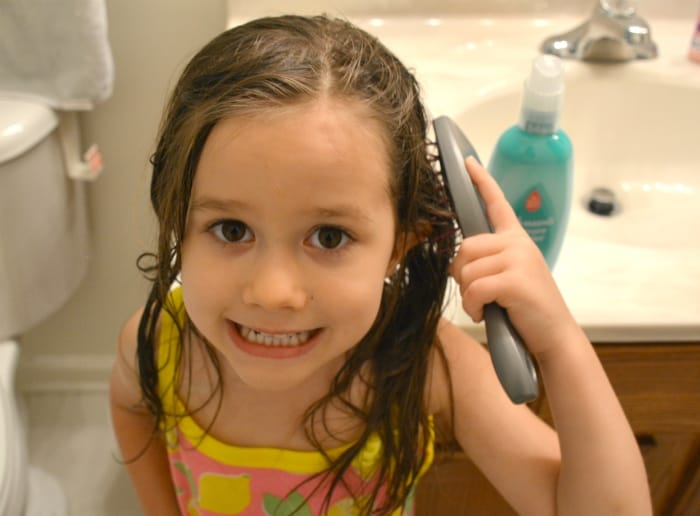 Tame The Tangles How I Care For My Daughter S Long Hair