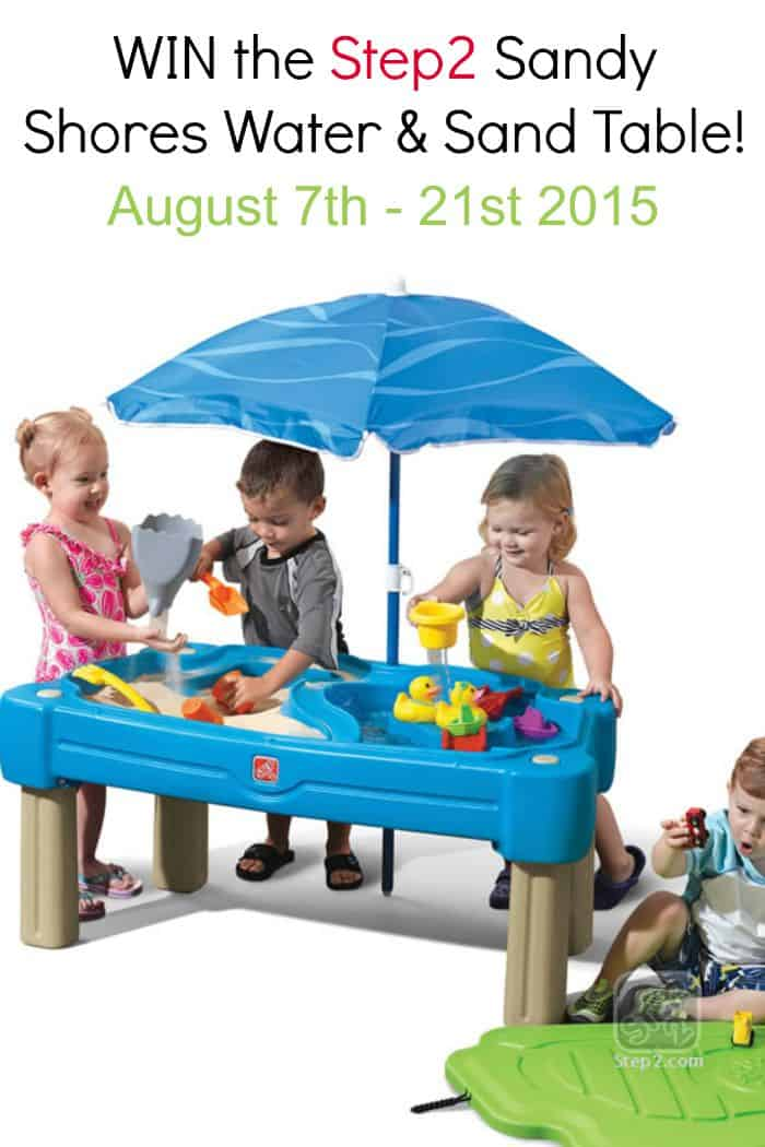 Step2 Sandy Shores Sand and Water Table Review and Giveaway