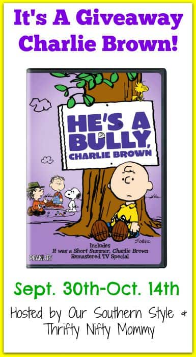 It's A Giveaway Charlie Brown!