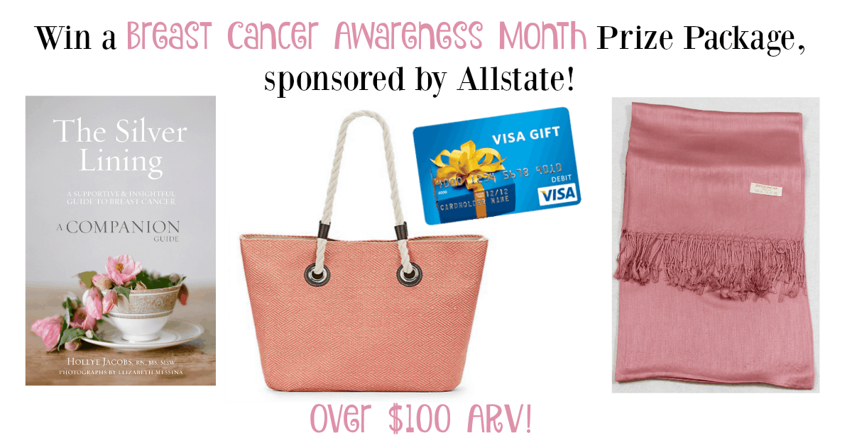 Win a Breast Cancer Awareness Month Prize Package from Allstate!