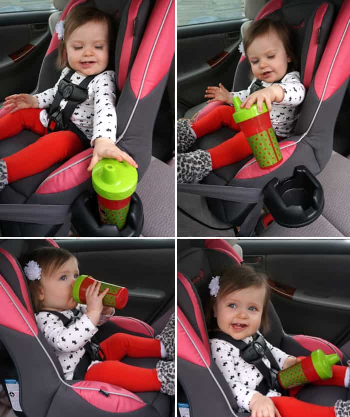 The Guide 65 Convertible Car Seat Installed In With Relative Ease We Used Lap Shoulder Strap To Install Our Manual States That You
