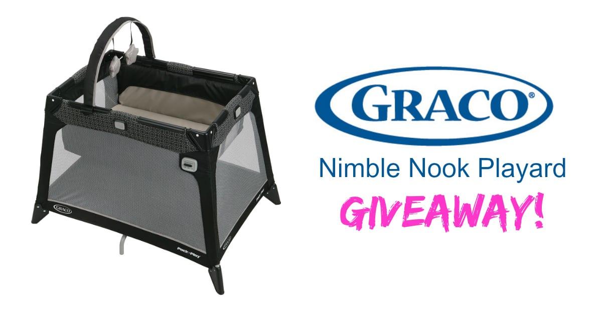 Graco Nimble Nook Review & Giveaway