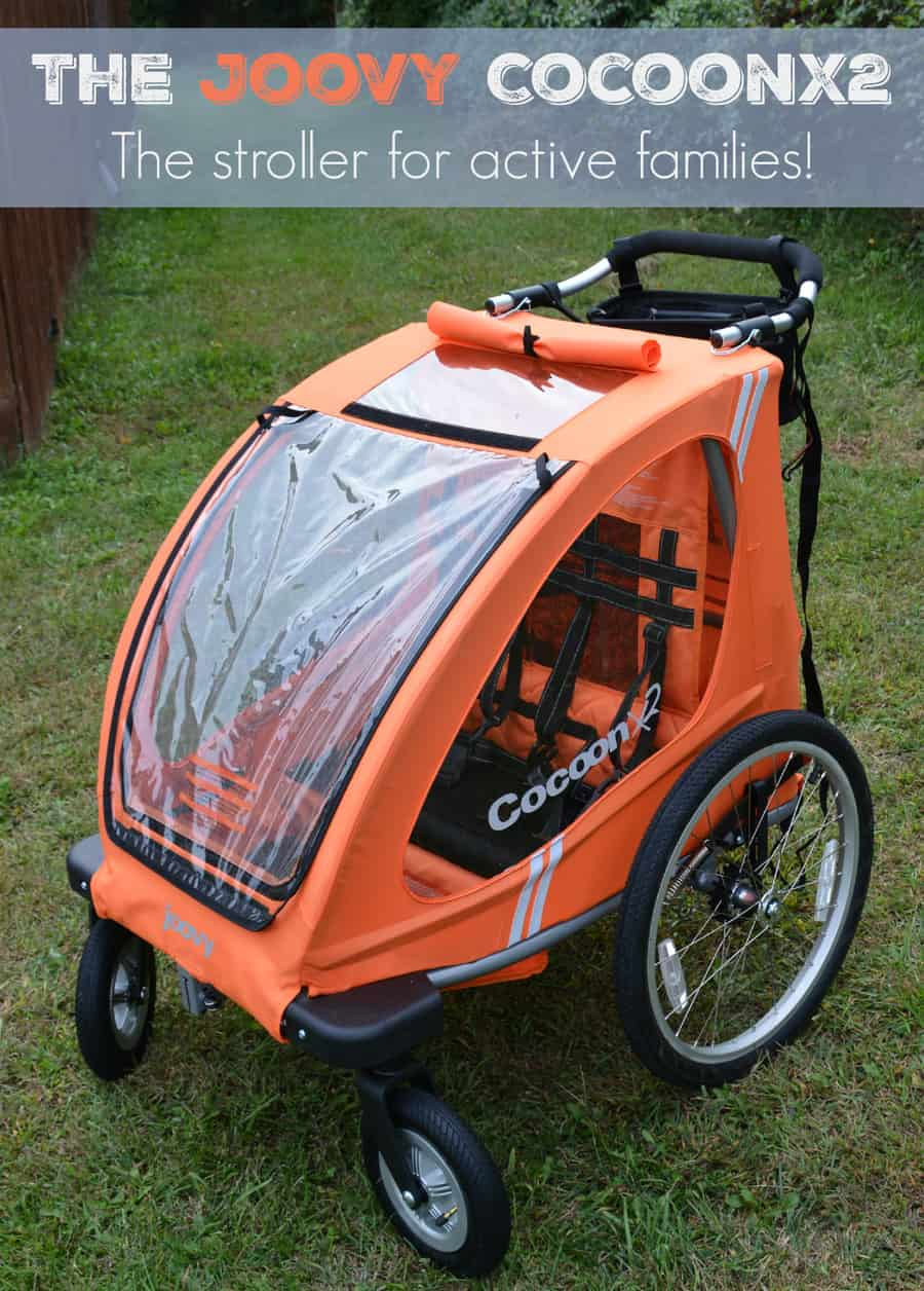 Joovy CocoonX2 – A Double Stroller For the Active Family